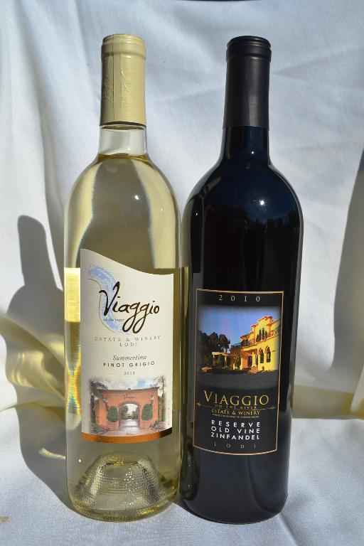 Pinot Grigio and Zinfandel each shipment